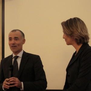 Alberto Pedrioli e Elisa Calcamuggi