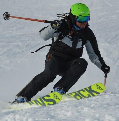 All mountain ski test
